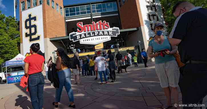The Salt Lake Bees — and baseball — returned  to Smith's Ballpark Thursday. Here's how it went.