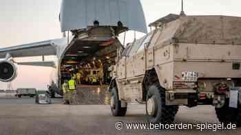 Logistik der Rückverlegung aus Afghanistan - Behoerden Spiegel