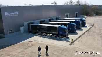 Neumünster: Sternheim Transport + Logistik erweitert Lagerfläche und schafft Arbeitsplätze   shz.de - shz.de