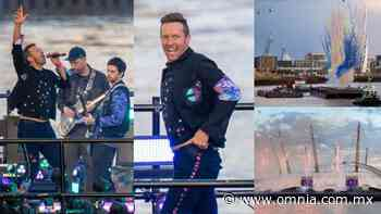Flotando sobre el Támesis, así abrirá Coldplay los BRIT Awards 2021 - Omnia