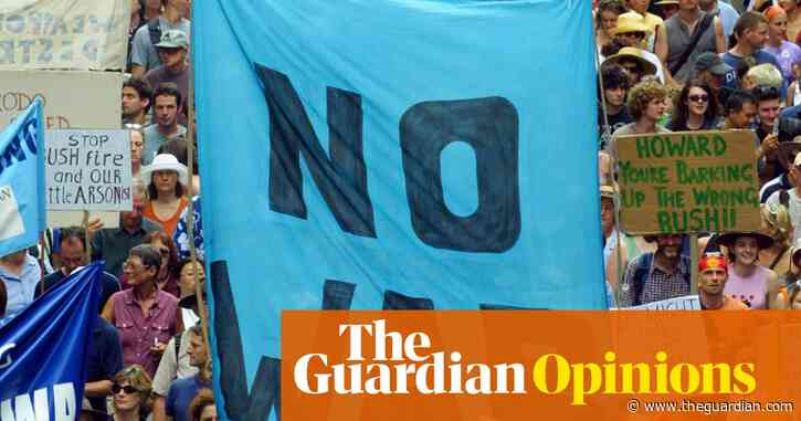 Australia's anti-war movement is depleted – who will stop the march to the 'drums of war'? | Jeff Sparrow