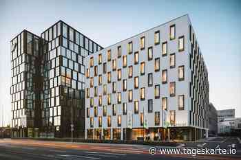 Baustart des H+ Hotels in Eschborn - TAGESKARTE