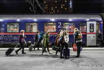 Nieuwe nachttrein naar Berlijn en Warschau stopt ook in Antwerpen - Gazet van Antwerpen