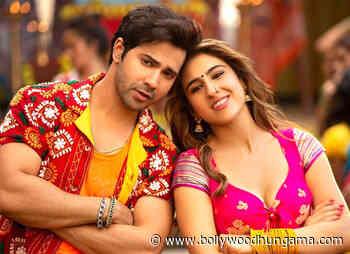 World Television premiere of Varun Dhawan and Sara Ali Khan starrer Coolie No. 1 garners 10.3 mil. viewership - Bollywood Hungama