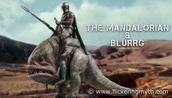 The Mandalorian & Blurrg Star Wars Television Masterpiece Series figure set revealed by Hot Toys - Flickering Myth