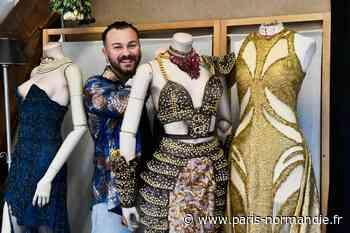 Smaïn Boutamtam, le styliste de Petit-Quevilly couturier officiel de Miss France - Paris-Normandie