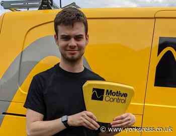 York teenager sets up own Motive Control security business