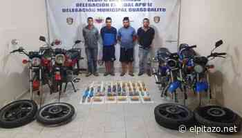 Cicpc captura a cuatro hombres con 18 kilos de droga en Guasdualito - El Pitazo
