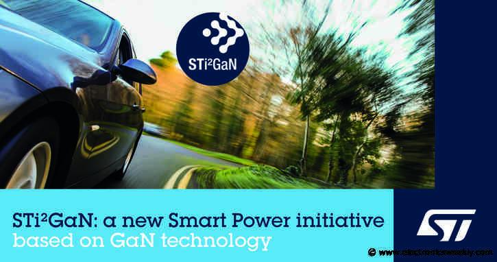 ST announces automotive GaN family