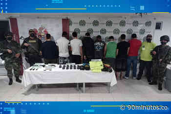 Previas : Capturados 8 presuntos miembros de la banda 'Villa Obando' - 90 Minutos