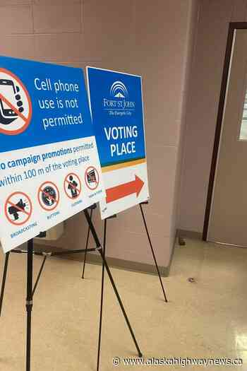 Fort St. John byelection: Advance poll turnout up - Alaska Highway News
