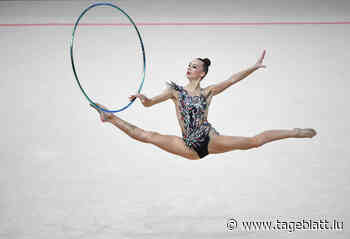 Rhythmische Sportgymnastik / Elena Smirnova sammelt weiter Erfahrung - Tageblatt online
