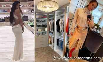 Show-stopping celebrity walk-in wardrobes: Victoria Beckham, Catherine Zeta-Jones, more photos - HELLO!