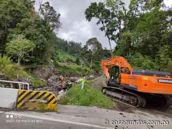 En Cerro Punta, realizan trabajos de dragado como prevención a época lluviosa - En Segundos