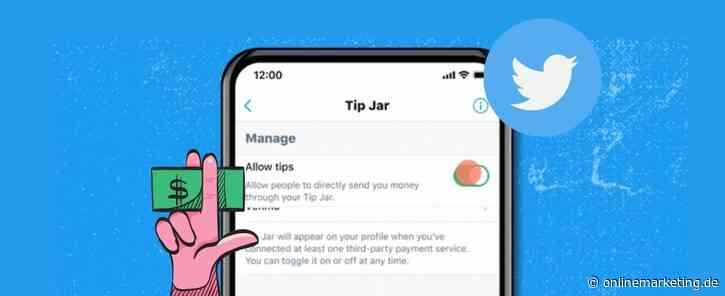 Liken mit Geld? Twitter führt Tip Jar ein