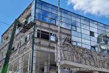 Grote sloopwerken voor nieuw stadskantoor in Gent (Gent) - Het Nieuwsblad