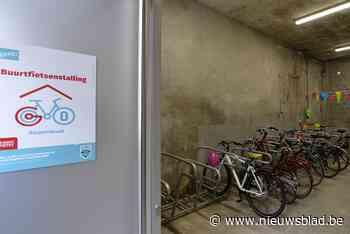 Wachtlijst voor fietsgarages in Gent: nog een pak extra buurtstallingen gepland - Het Nieuwsblad
