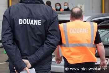 Douniers houden stiptheidsacties aan Nederlandse grens in Wuustwezel