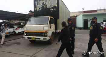 Chosica: Policías recuperan camión robado y partes de otros vehículos pesados - Diario Trome