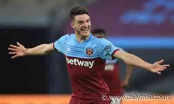 Manchester City 'will weigh up move for West Ham's Declan Rice' if Fernandinho leaves