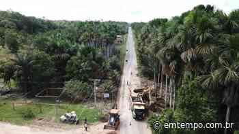 Edital para revitalização da rodovia Manaus-Itacoatiara é publicado - EM TEMPO