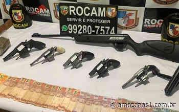 Rocam apreende armas e drogas em operação em Itacoatiara - Portal Amazonas1