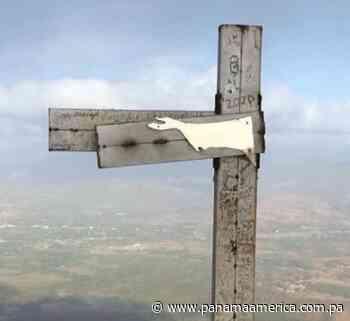 Cruz de metal en la cima del Cerro Chame será reemplazada tras daños ocasionados por desconocidos - Panamá América