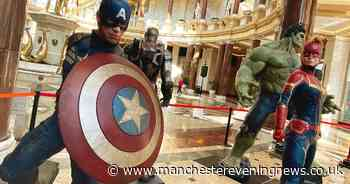 Marvel superheroes descend on Trafford Centre - Manchester Evening News