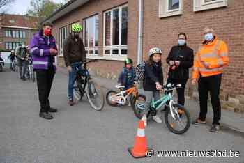 Slechts enkele leerlingen volledig in orde bij fietscontrole - Het Nieuwsblad