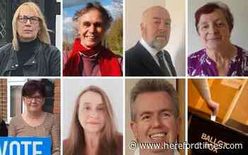 Herefordshire goes to the polls: count results