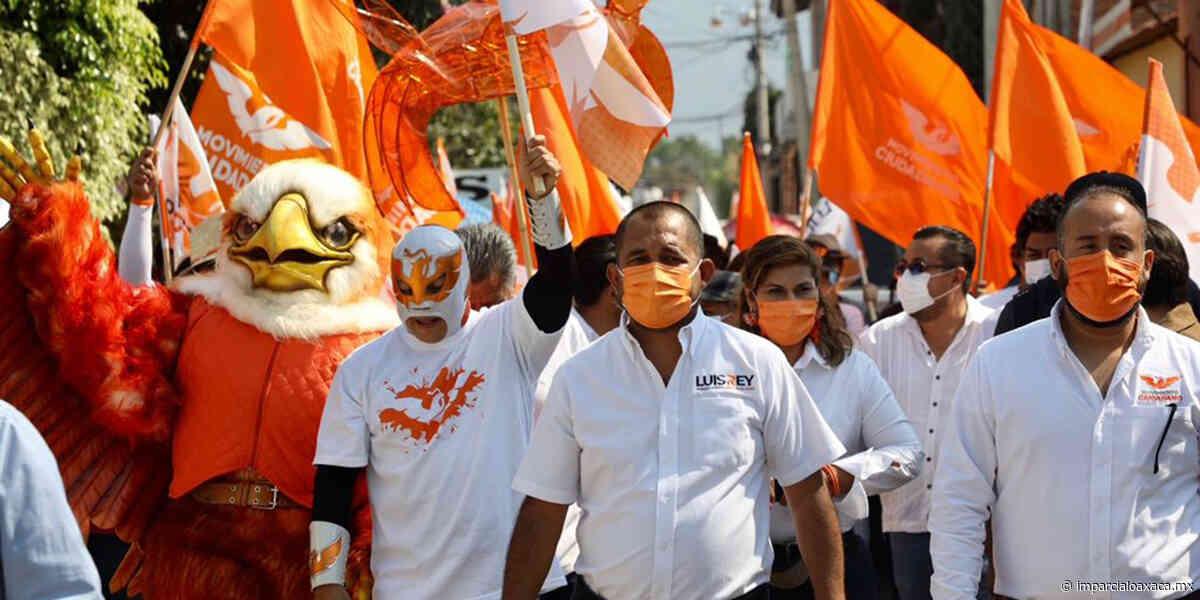La ola naranja inunda las calles de Santa Lucía - El Imparcial de Oaxaca