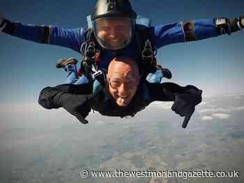 Barrow man John Rose skydives for Rosemere Cancer Foundation - The Westmorland Gazette