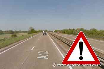 A12: Police stop traffic near Witham after accident