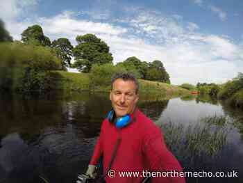 Sky TV's River Hunters search for evidence in Knaresborough