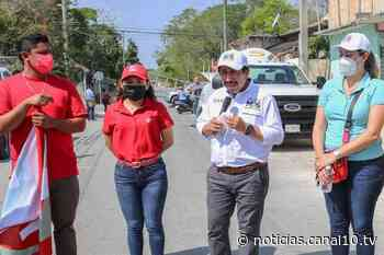 """Familias de la colonia """"El Ejido"""" refrendaron su respaldo al proyecto del candidato Víctor Mas - Canal 10"""