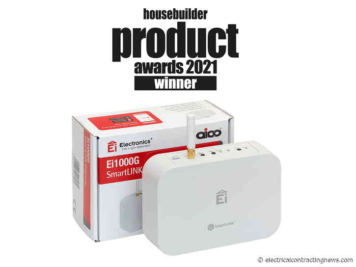 Aico SmartLINK Gateway awarded Best Health and Safety Product