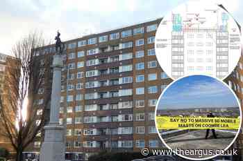 Coombe Lea, Grand Avenue, Hove: 5G mast plan is rejected