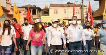 Realiza Luis Felipe León Balbanera, caminata por colonias de Zacapu - El Diario Visión