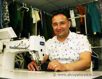 Shrewsbury tailor who fled Afghanistan makes move to new premises - shropshirestar.com