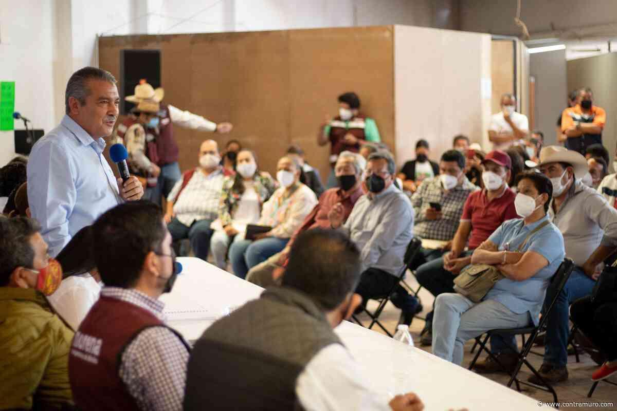 Refrenda Raúl Morón respaldo de los michoacanos a la 4T - ContraMuro