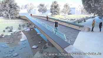 Weitere Brücke gesperrt - Bauarbeiten für neue Eyach-Querung in Balingen beginnen - Schwarzwälder Bote