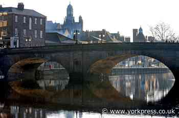 Incident on York  bridge - emergency services called in