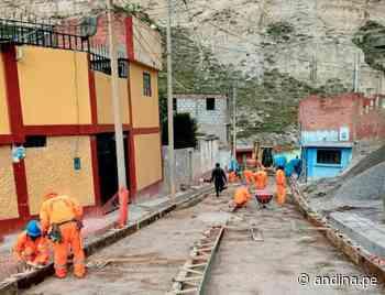 Junín: reinician trabajos de remediación de suelos mineralizados en La Oroya - Agencia Andina