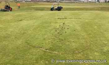 Vandals cause 'extensive damage' to Aberdeen golf course days after reopening - Aberdeen Evening Express