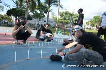 Todo listo para la velatón en el parque Olaya Herrera - El Diario de Otún