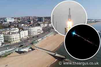 Chinese rocket debris: Will it crash in Brighton at weekend?