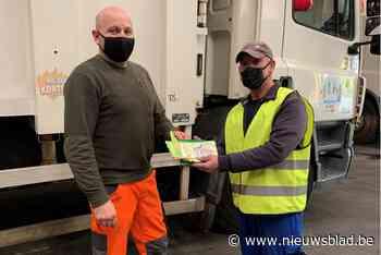 Afvalvervoerders worden getest op veiligheid