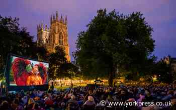 How to get tickets for open air cinema in York this August - from Harry Potter to Dirty Dancing