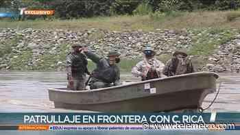 Refuerzan seguridad en Guabito y patrullajes en la frontera con Costa Rica - Telemetro