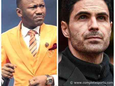 Popular Nigerian Pastor Suleman Wants Arteta Sacked After Europa League Exit